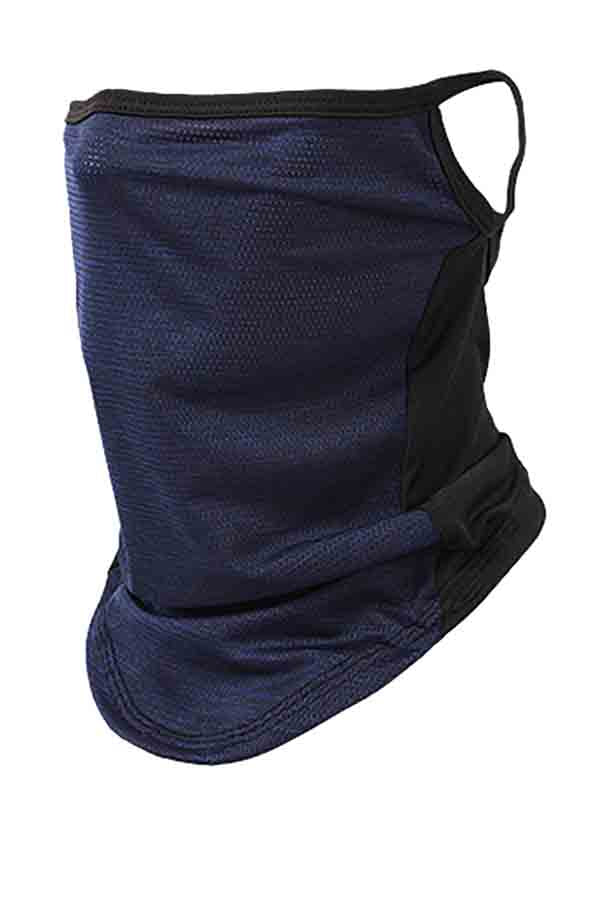 Windproof UV Protection Riding Earloop Neck Gaiter For Outdoor Dustproof