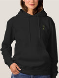 Victory Symbol Volcano Funny Hoodies For Women