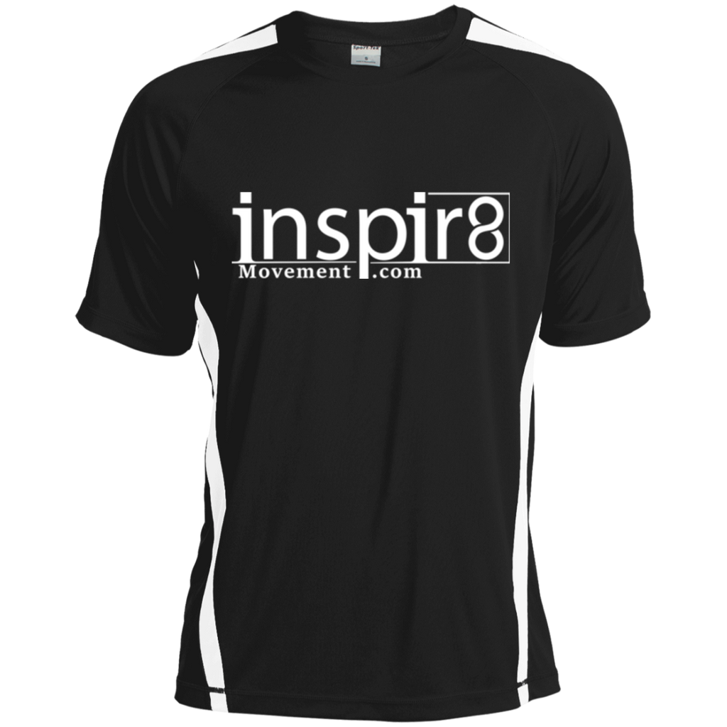 Official inspir8movement.com Men's  Dry Zone Crew Shirt