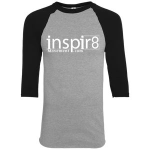 Official inspir8movement.com Men's Baseball Long Sleeve Shirt