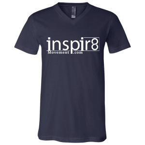 Official inspir8movement.com Men's V-Neck Shirt for inspirational and motivational clothing