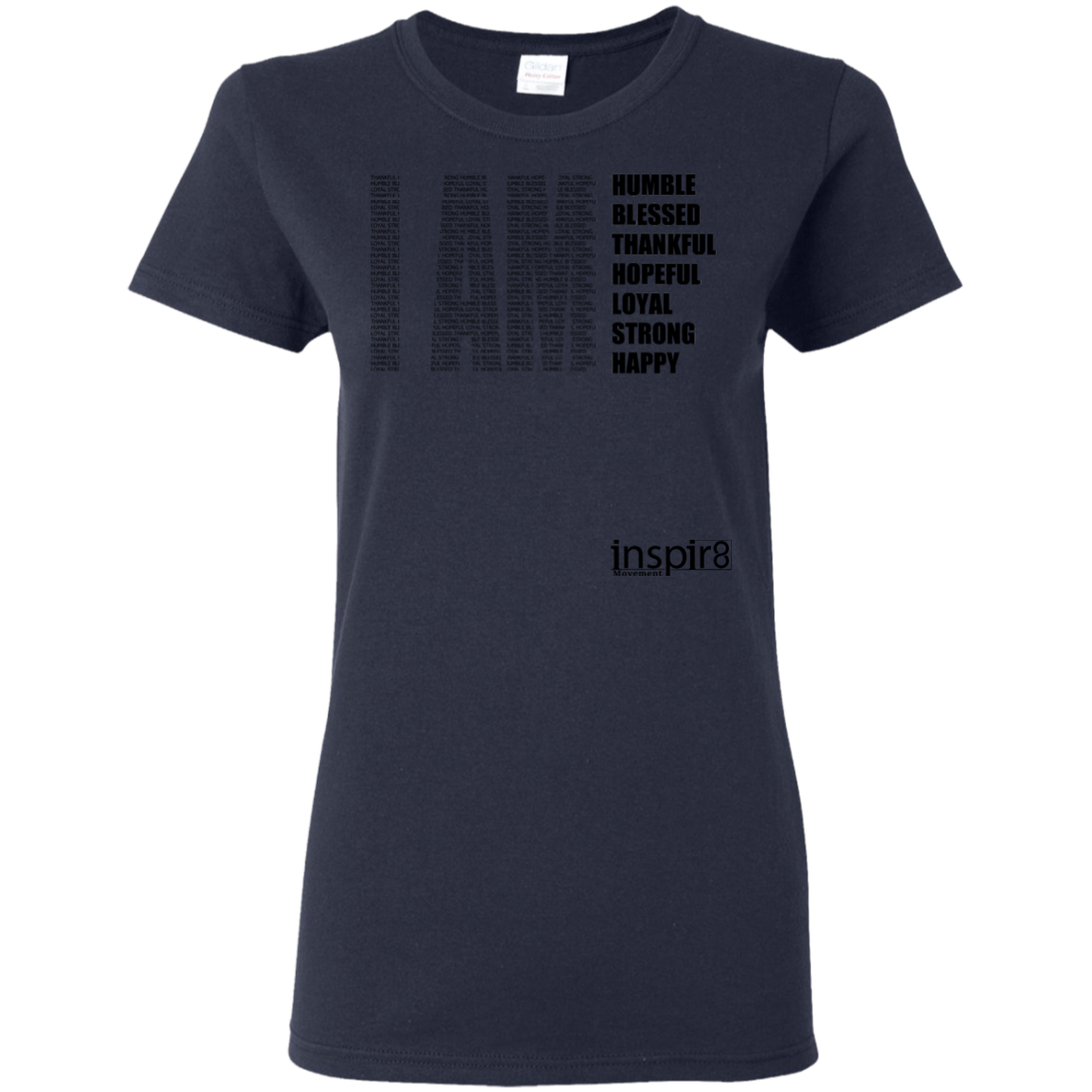Ladies' T-Shirt - inspirational and motivational clothing