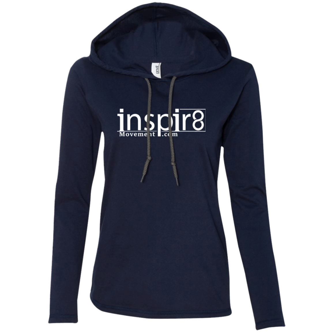 Official inspir8movement.com Women's Pullover Hoodie inspirational and motivational clothing