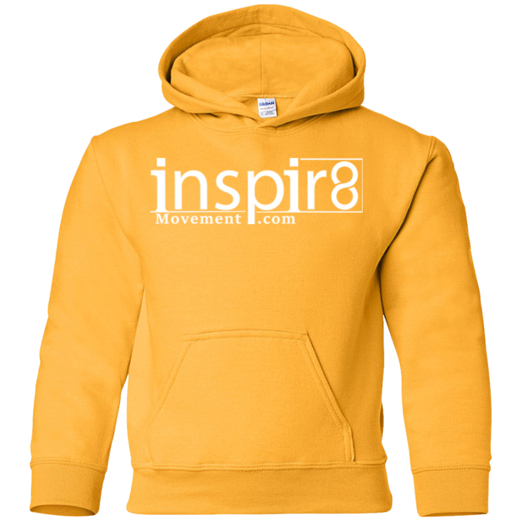 Official Kid's inspir8movement.com Hoodie for inspirational and motivational clothing