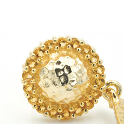 TRINCO CITRINE EARRING