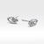 MARQUISE STERLING SILVER STUD EARRINGS