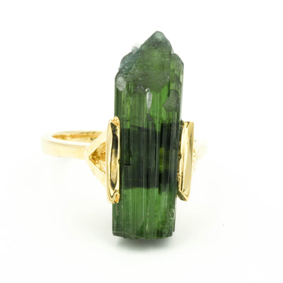 RAW TOURMALINE RING IV