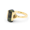 RAW TOURMALINE RING IX