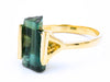 RAW TOURMALINE RING VIII
