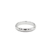 CLASSIC STERLING SILVER ROUNDED RING