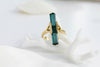 RAW INDICOLITE TOURMALINE RING II