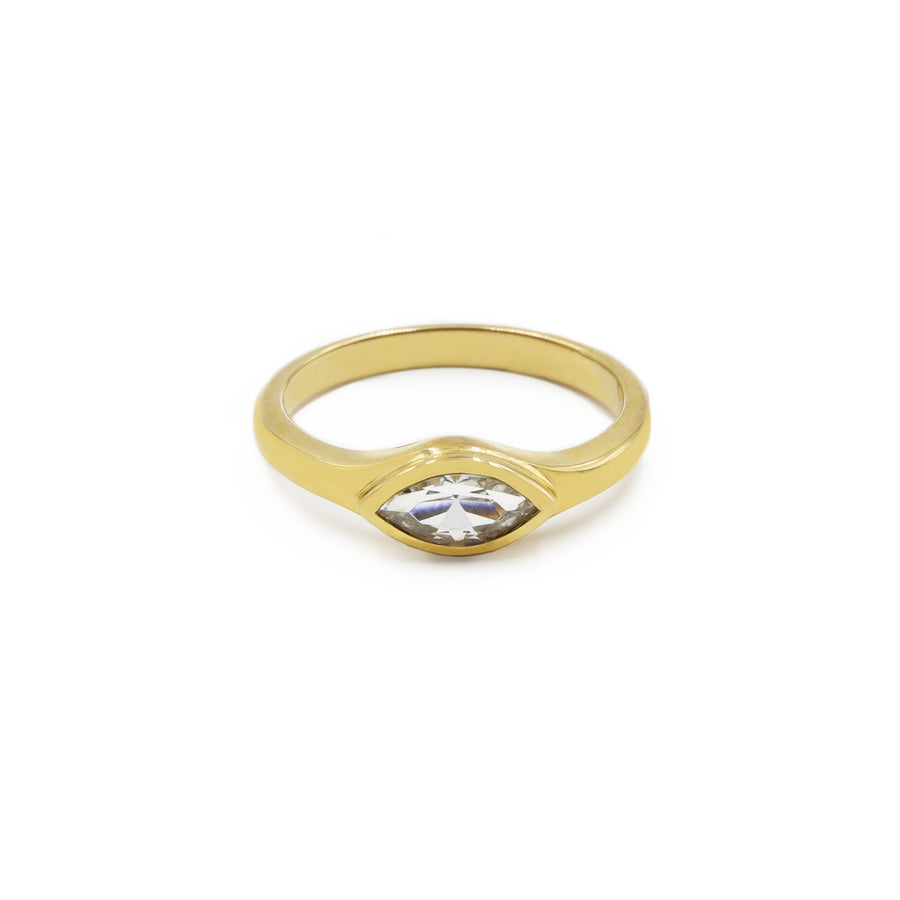 SIWA SAPPHIRE RING IN 18K SOLID GOLD