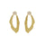 WADI EARRING IN 18K VERMEIL WITH MOONTSTONE