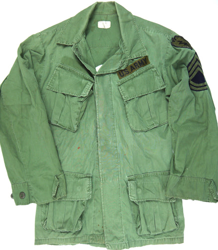 67-68 VIETNAM TOUR custom VINTAGE 60s 3rd PATTERN JUNGLE JACKET 25th infantry XS