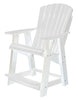Wildridge Heritage Recycled Plastic High Adirondack Chair
