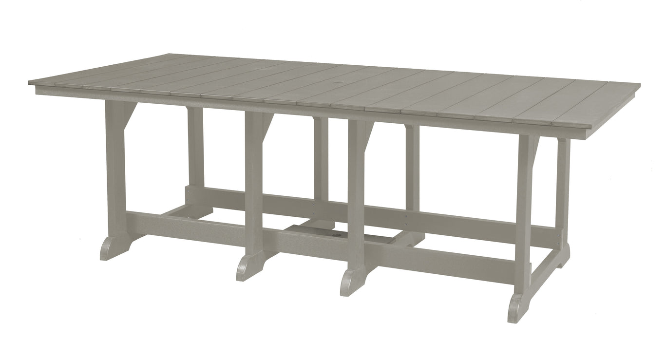 Wildridge Heritage Recycled Plastic 44Inch x 94Inch Table