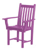 Wildridge Classic Recycled Plastic Side Chair with Arms