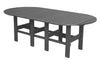 Wildridge Classic Recycled Plastic Oval Dining Table