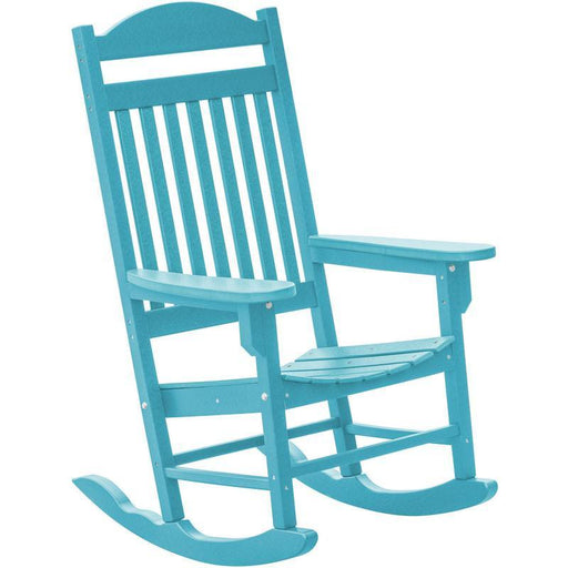Wildridge Heritage Traditional Rocker Chair Aruba Blue