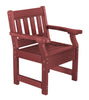 Wildridge Heritage Recycled Plastic Garden Chair