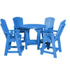 Wildridge Heritage Recycled Plastic 5 Piece Pub Table Set