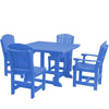 Wildridge Heritage Recycled Plastic 5 Pc Dining Set
