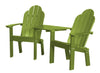 Wildridge Classic Recycled Plastic Deck Chair Tete-a-Tete