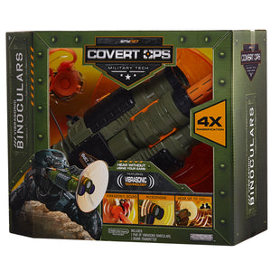 Spy Net Covert Ops Binoculars with Long Range Mic
