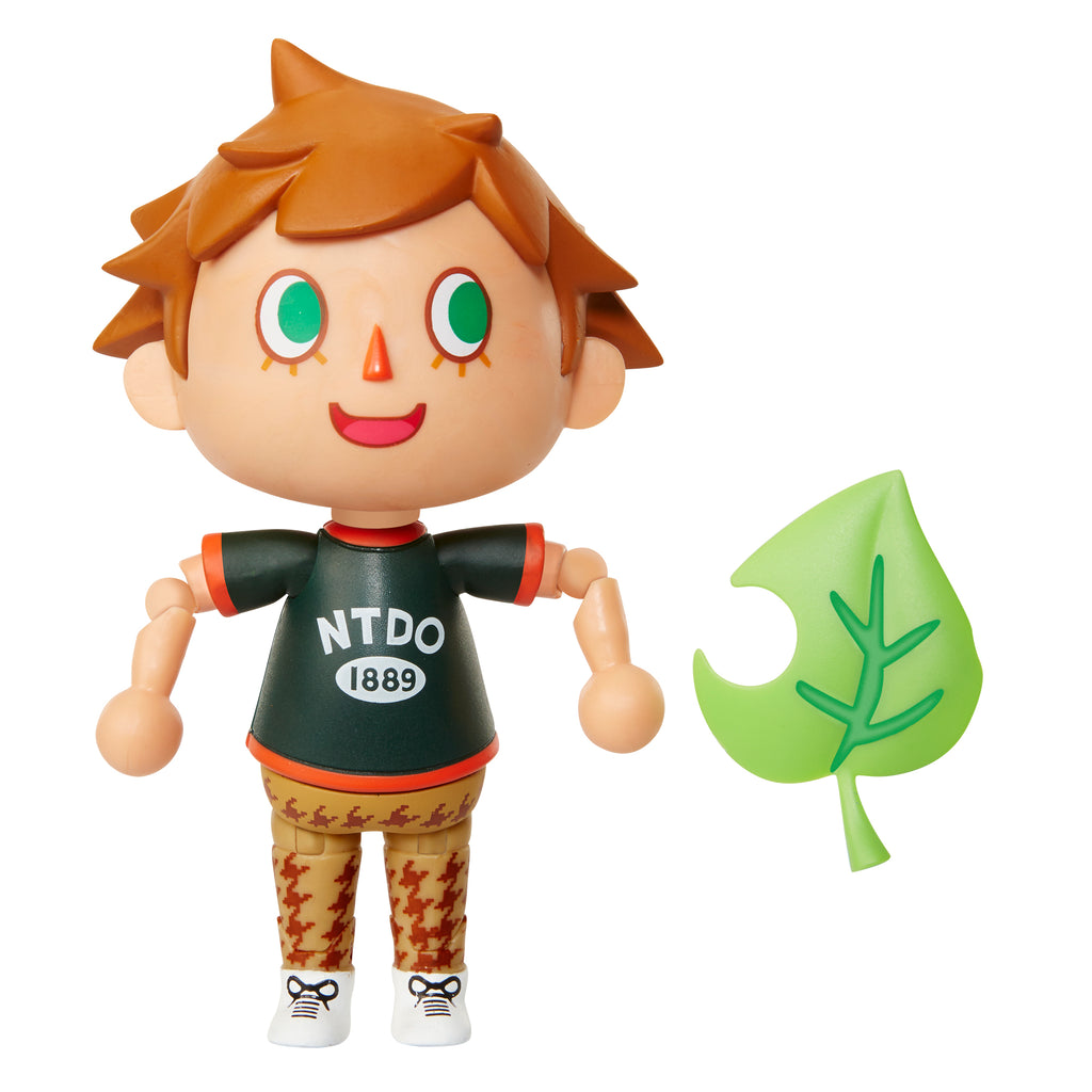 World of Nintendo Animal Crossing Villager Action Figure 4""