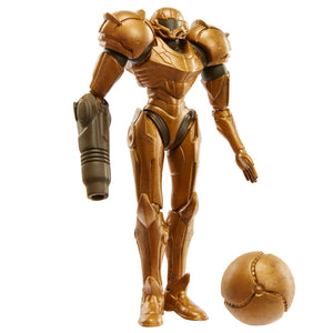 World of Nintendo Trophy Samus Action Figure 4""
