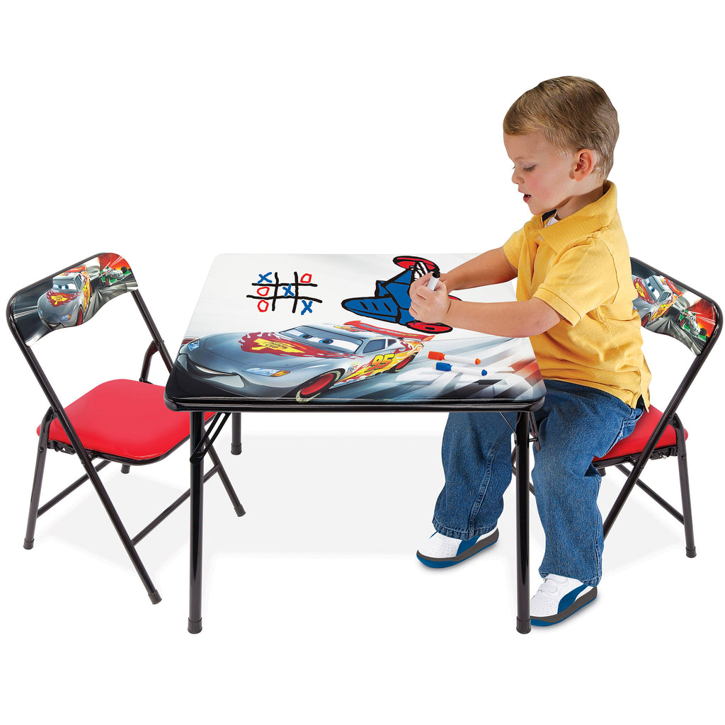 Disney Cars Erasable Activity Table Set