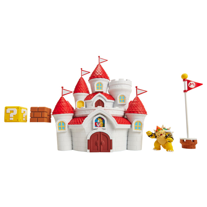 World of Nintendo Mushroom Kingdom Castle Playset