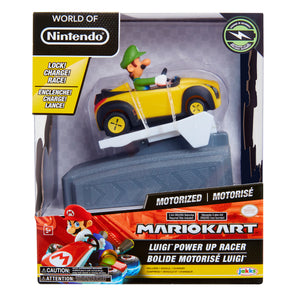 World of Nintendo Mario Kart Chargers - Luigi Toy Figure