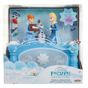 Disney Frozen Olaf's Frozen Adventure Musical Jewelry Box