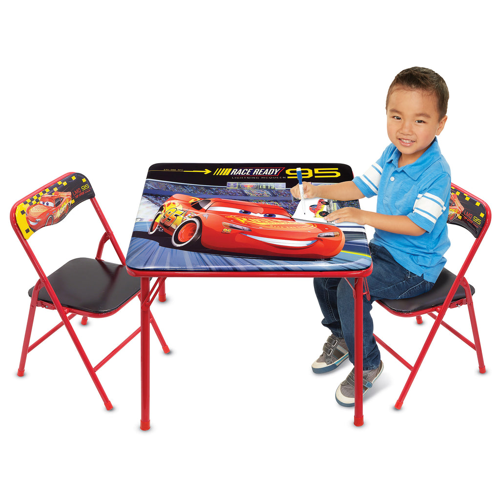 Disney Cars 3 Activity Table Set