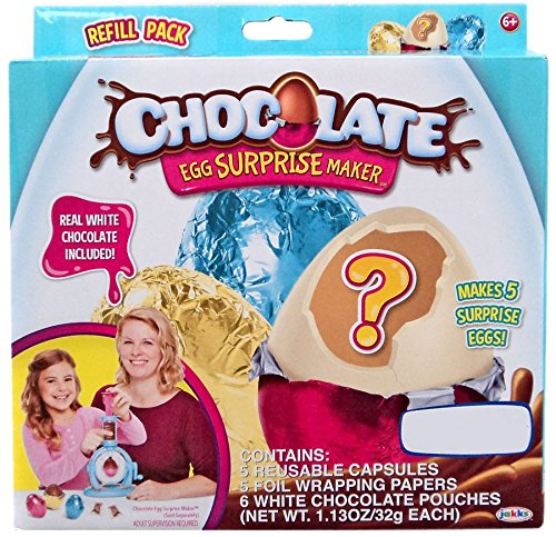 Chocolate Egg Surprise Maker Refill - White Chocolate