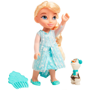 Disney Frozen Petite Elsa Doll with Olaf & Comb