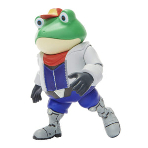 World of Nintendo Slippy Toad Action Figure 4""