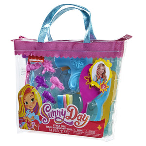 Sunny Day Style File Hair Accessory Tote