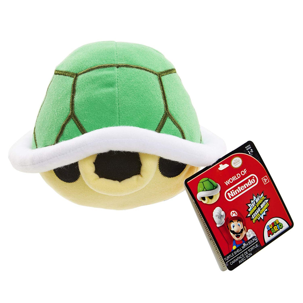 World of Nintendo Turtle Shell Plush with Sounds