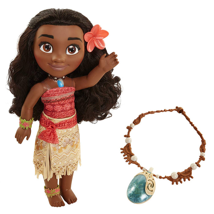 Disney Moana's Adventure With Magical Seashell Necklace Doll