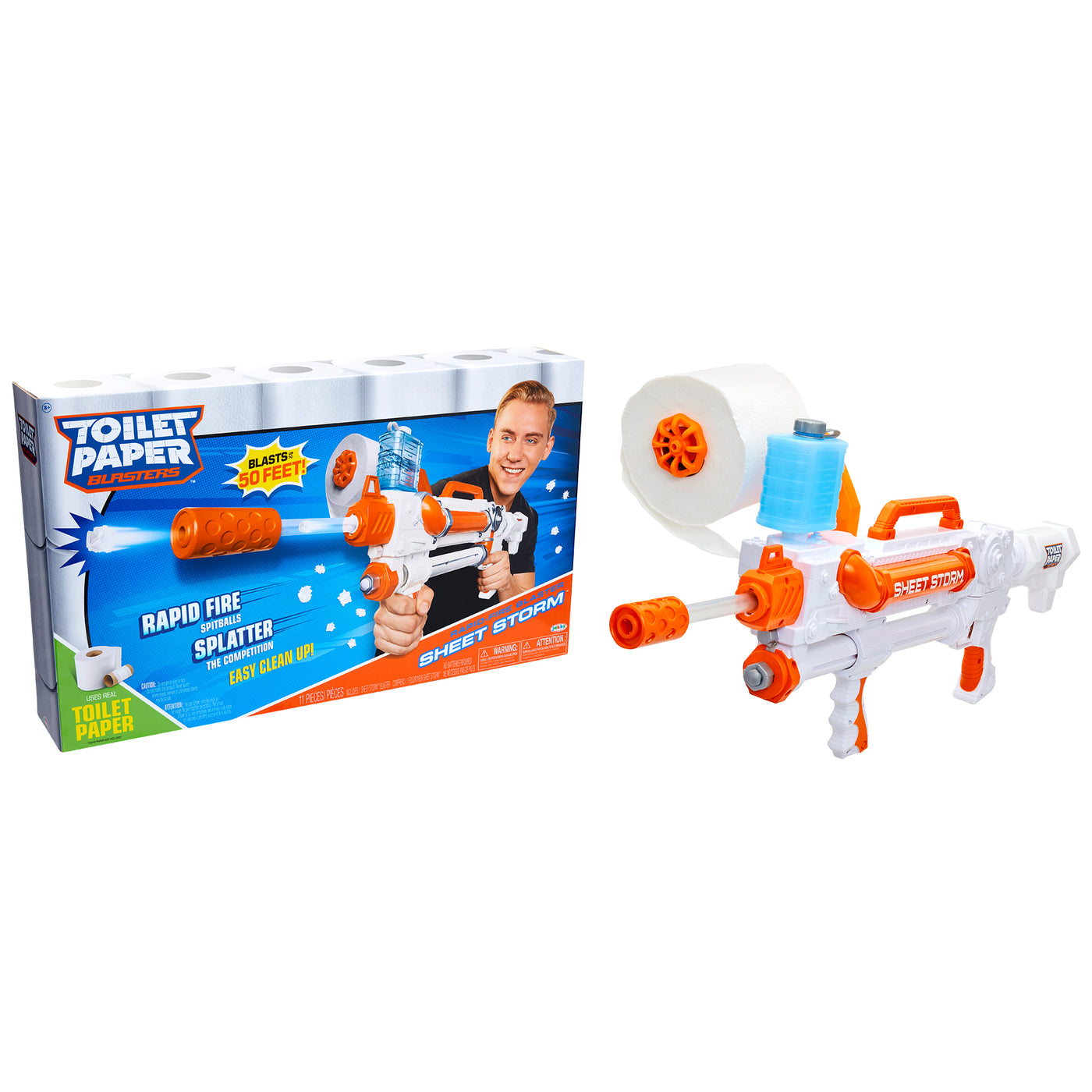 Toilet Paper Blasters - Sheet Storm