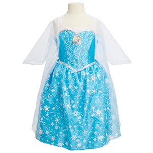 Disney Frozen Elsa Musical Light Up Little Girls Dress