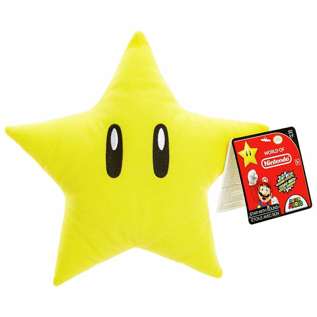 World of Nintendo Star With Sound Plush Figure