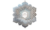 Mandala Wind Spinner with Crystal