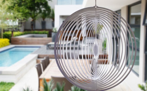 Stainless Steel Round Wind Spinner