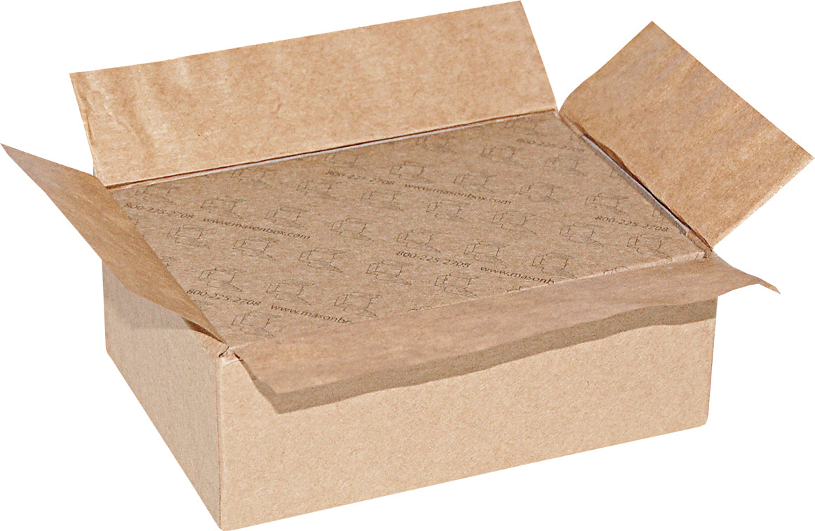 "Kraft Universal Sealing Flap Mailing Box - MB3 - 4 5/8"" x 3 1/8"" x 1 3/4"""