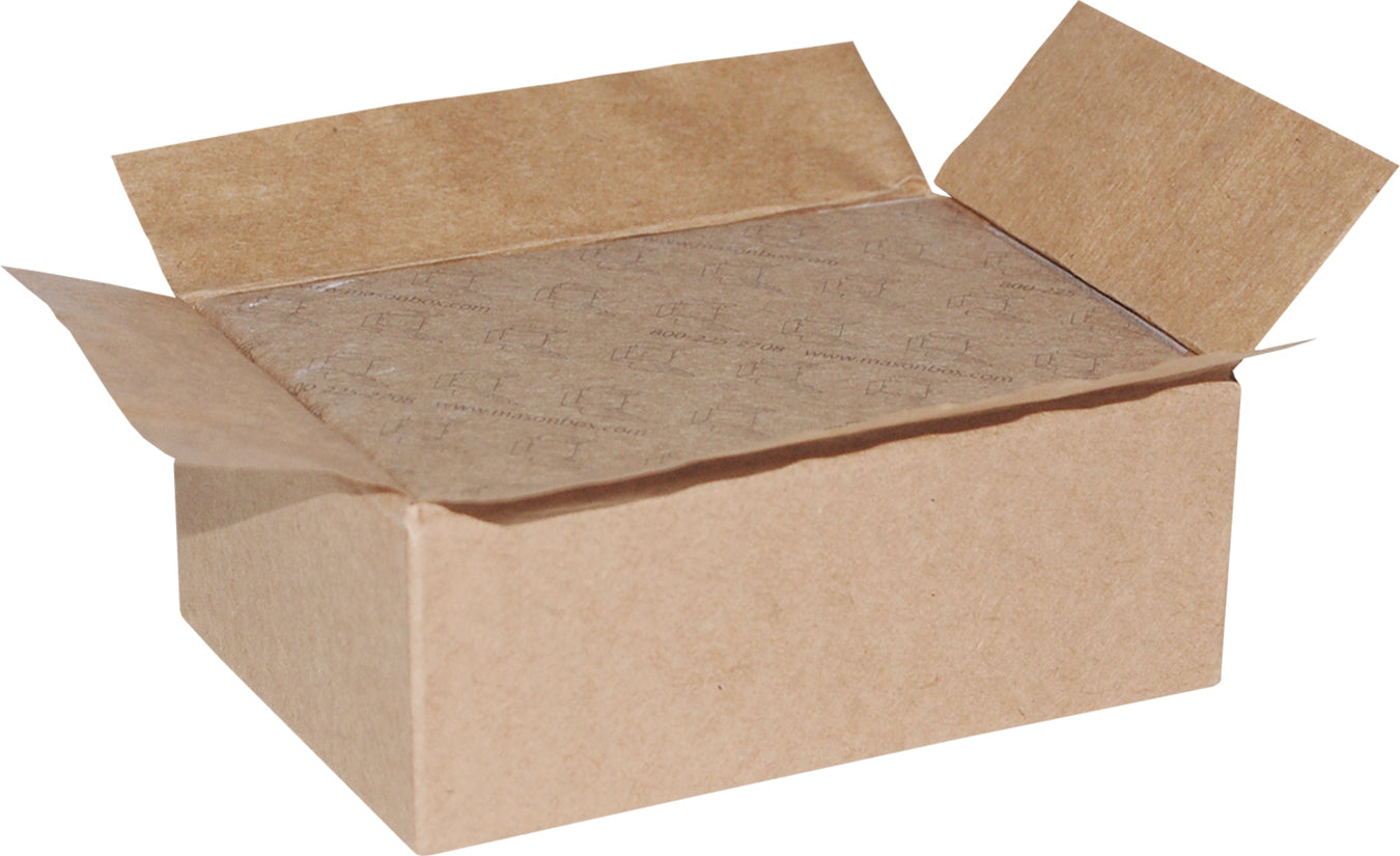 "Kraft Universal Sealing Flap Mailing Box - MB7 - 6 3/4"" x 4 5/8"" x 2 1/2"""
