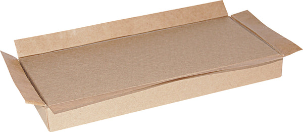 "Kraft Universal Sealing Flap Mailing Box - MB89 - 10"" x 4 1/2"" x  1"""