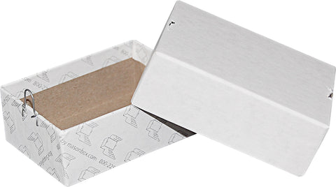 White Repair/Mailing Box - P0 - 3 x 2 x 1-1/8